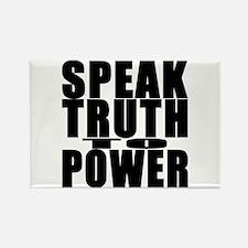 Speak Truth to Power Rectangle Magnet