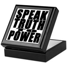 Speak Truth to Power Keepsake Box