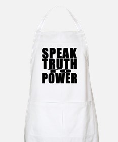 Speak Truth to Power BBQ Apron