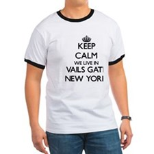 Keep calm we live in Vails Gate New York T-Shirt