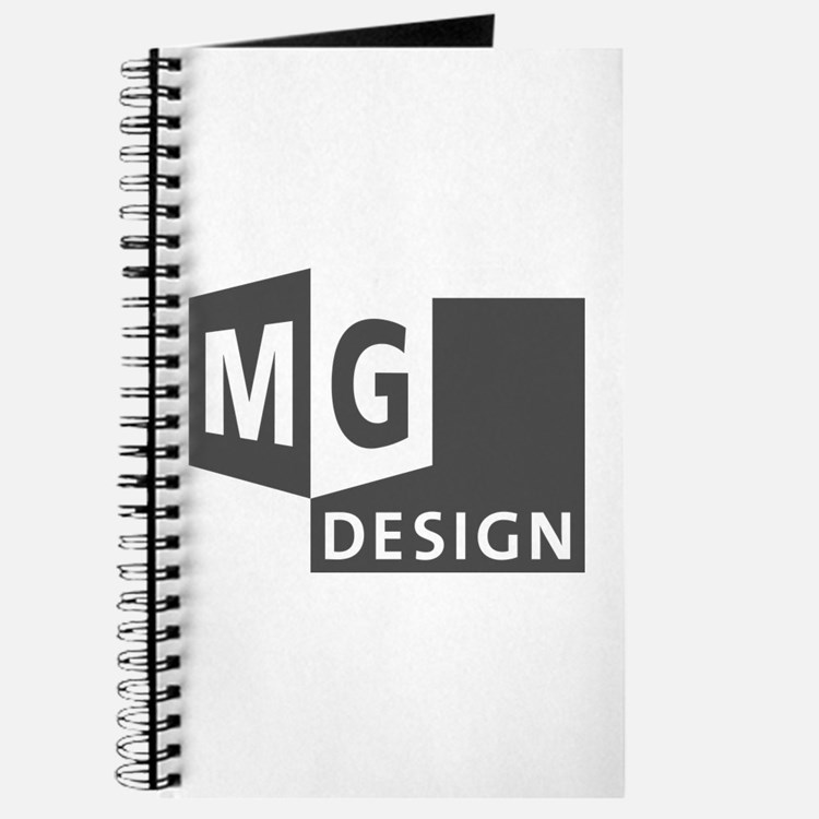 MG Design Logo in Gray Journal