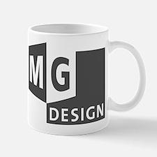 MG Design Logo in Gray Mugs