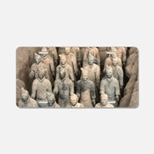 Terracotta Army, China. Aluminum License Plate