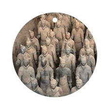 Terracotta Army, China. Ornament (Round)