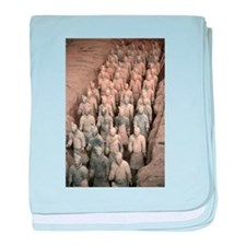 Terracotta Army, China. baby blanket