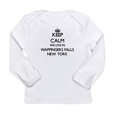 Keep calm we live in Wappinger Long Sleeve T-Shirt