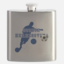 Bosnia Football Player Flask