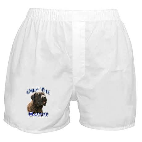 Mastiff (brindle) Obey Boxer Shorts