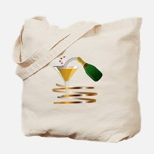 Champagne Party Celebration Tote Bag