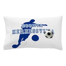 Bosnia Football Player Pillow Case