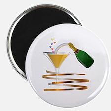 Champagne Party Celebration Magnet