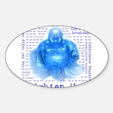 Unique Laughing buddha Decal