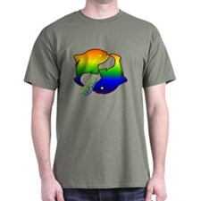 """Rainbow Pisces"" T-Shirt"