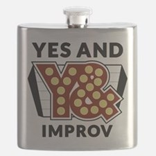 Yes And Logo Flask