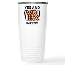 Yes And Logo Travel Mug