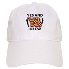 Yes And Logo Baseball Baseball Cap