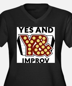Yes And Logo Plus Size T-Shirt