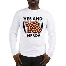 Yes And Logo Long Sleeve T-Shirt