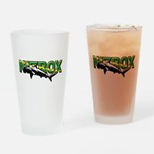 Nitrox Shark Drinking Glass