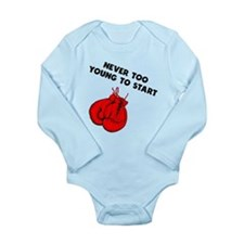 Never Too Young To Start Boxing Body Suit