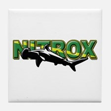 Nitrox Shark Tile Coaster