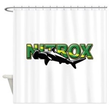 Nitrox Shark Shower Curtain