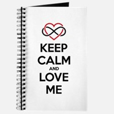 Keep calm and love me Journal