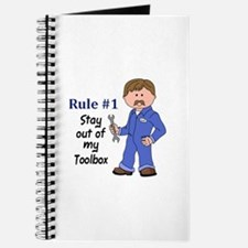 STAY OUT OF MY TOOLBOX Journal