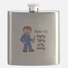 RIGHTY TIGHTY Flask
