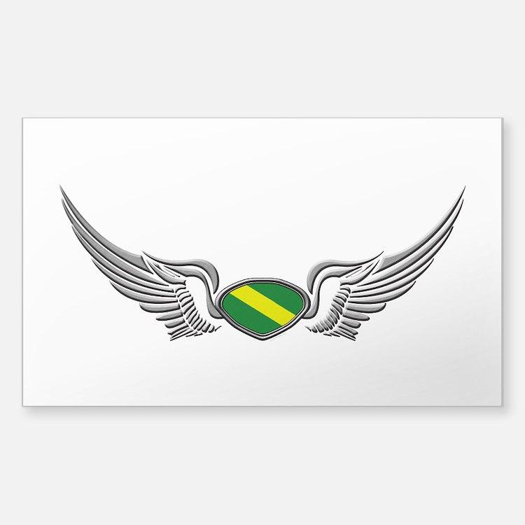 Nitrox Wings Sticker (Rectangle)