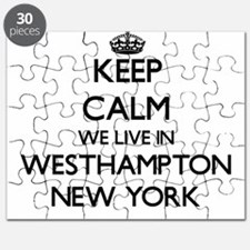 Keep calm we live in Westhampton New York Puzzle