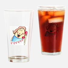 LATEST GOSSIP Drinking Glass