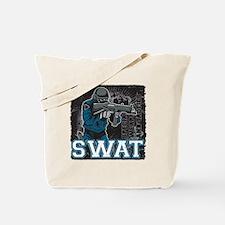Police SWAT Team Member Tote Bag
