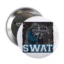 "Police SWAT Team Member 2.25"" Button"
