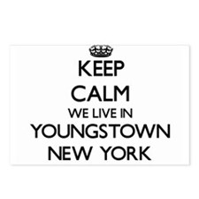 Keep calm we live in Youn Postcards (Package of 8)