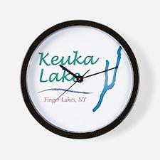 Keuka Lake Wall Clock