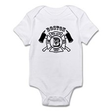 Cute Fire department Infant Bodysuit