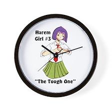 Harem Girl #3 - The Tough One Wall Clock