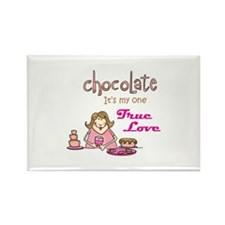 CHOCOLATE LOVER Magnets