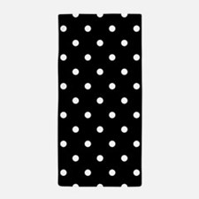 Black And White Polka Dot Bathroom Accessories Decor