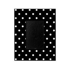 BLACK AND WHITE Polka Dots Picture Frame