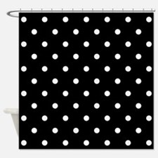Black And White Polka Dot Bathroom Accessories Decor Cafepress