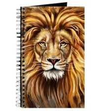 Artistic Lion Face Journal
