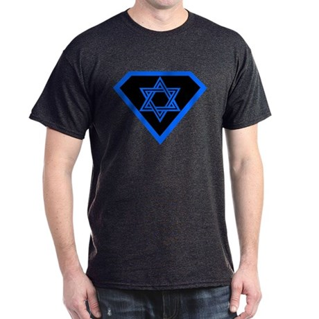 JEWISH HUMOR SUPER JEW TEE SH Dark T-Shirt