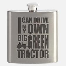 Big Green Tractor Flask