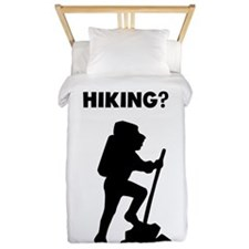 Did Someone Say Hiking? Twin Duvet