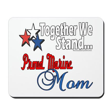 Proud Marine Mom Mousepad