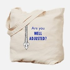 WELL ADJUSTED Tote Bag