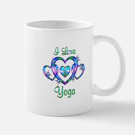 I Love Yoga Mug