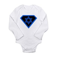 Cute David Long Sleeve Infant Bodysuit